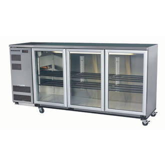 Skope BB580 3 Swing Doors Backbar